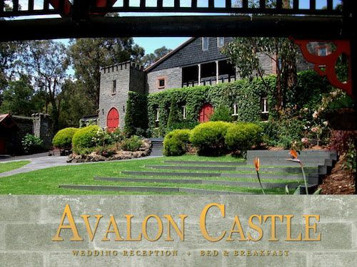 Avalon Castle, Cockatoo - Grounds and logo