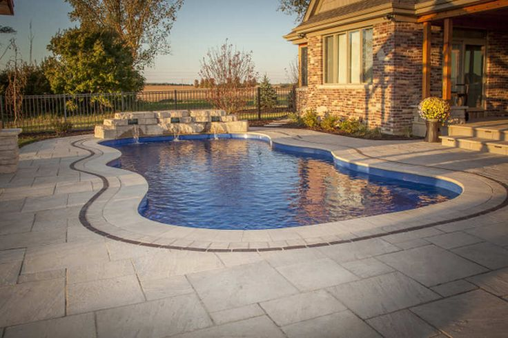 198 best gorgeous swimming pools images on pinterest - Swimming pools burlington ontario ...