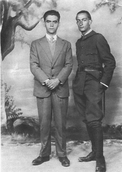 Федерико Гарсиа Лорка и Сальвадор Дали. Фигерос, 1927 г. Фото: garcia-lorca.ru