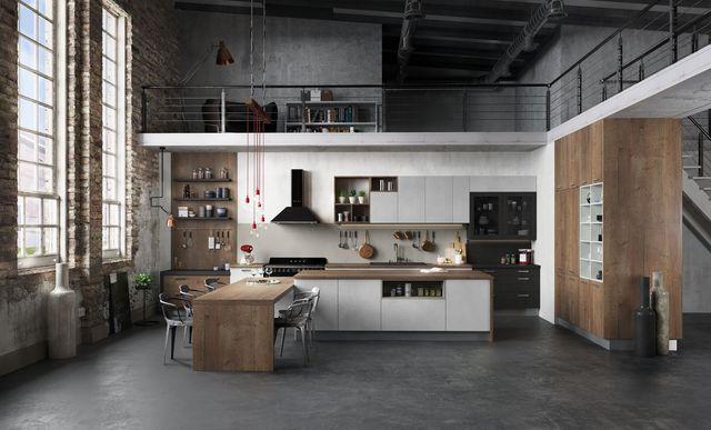 Un espace cuisine à l'esprit loft, Arthur Bonnet