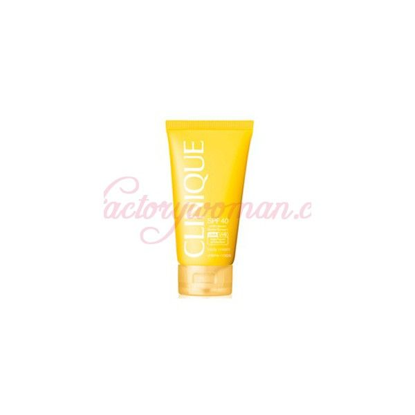 CLINIQUE SOLAR BODY CREAM SPF40 150ML