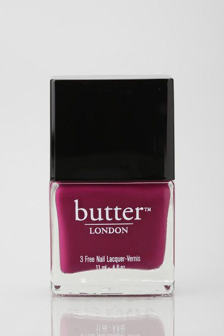 Queen Vic by Butter London. Just bought this and I am hooked! Very pricey, so I should be able to collect them all by the time I'm 75!