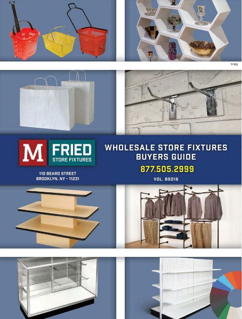 M  Fried Wholesale Store Fixtures Buyers Guide - Vol