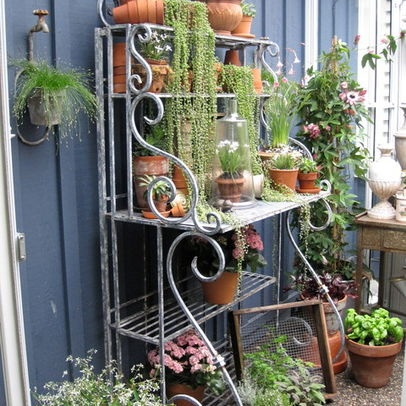 Bakers Rack Plant Stand Indoor