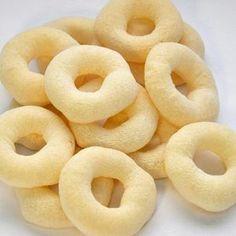 Receita de Biscoito de polvilho do Globo Rural -Adorei !!!