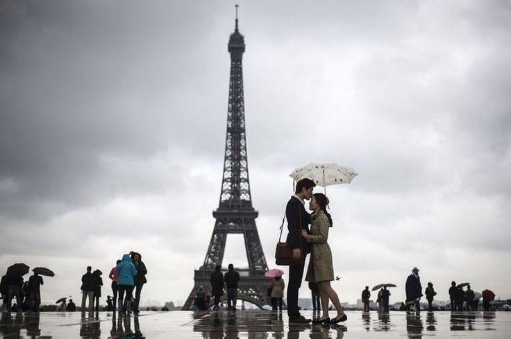 Chuva em Paris : Seja fashion até em baixo d'água