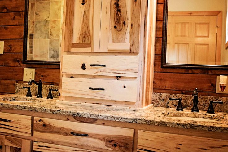 Handmade Hickory Cabinets And Cambria Bradshaw Countertops