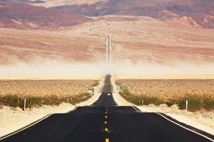 Death Valley's road
