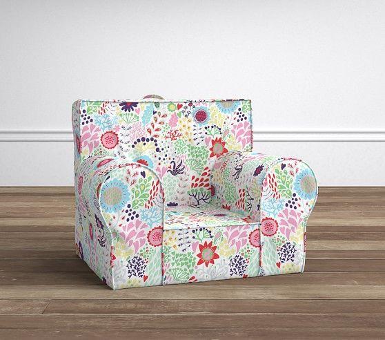 Margherita Missoni Anywhere Chair // Pottery Barn Kids #mypbk #margheritakids floral kids chair