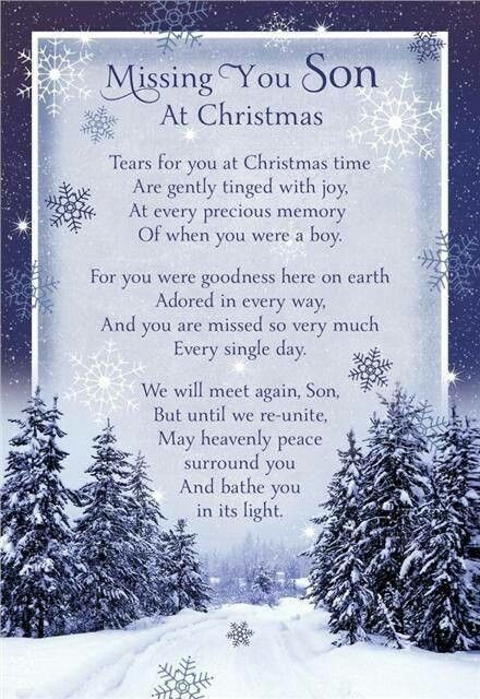 Missing my Son at Christmas | In Loving Memory of Tyler ...