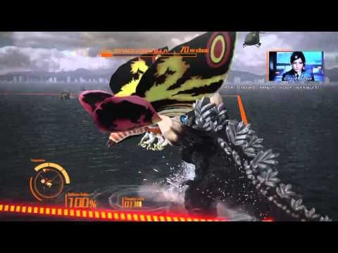 Godzilla Ps4: Mothra (Adult) Walkthrough - YouTube