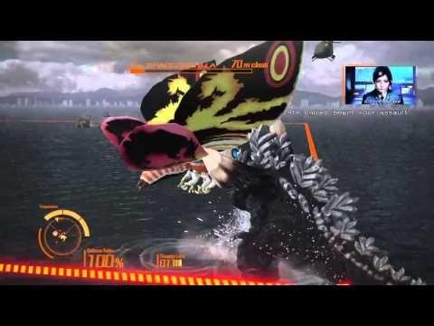 Godzilla Ps4: Kiryu Walkthrough - YouTube