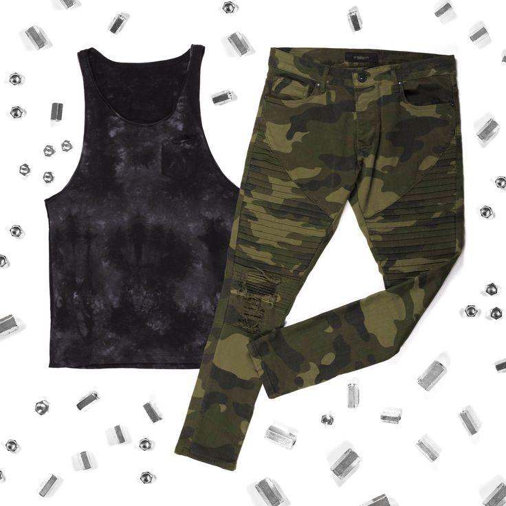 Тренд: камуфляж🔝Ультрамодные #джинсы в камуфляжный принт с тиснением, декорированы рваными деталями. Лучше всего сочетать такую активную модель со спокойными однотонными вещами.#mfstore #madeinua #madeinukraine #madeinkiev #madeinodessa #madeinlviv #ukrainiandesigner #streetwearbrand #ukrainianbrand #ilovemfs