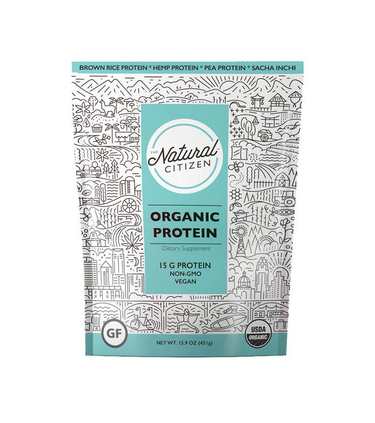 New! Organic Protein
