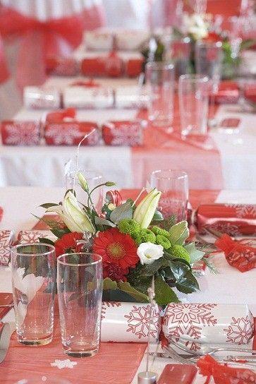 56 best Christmas Wedding Table Set images on Pinterest | Christmas ...