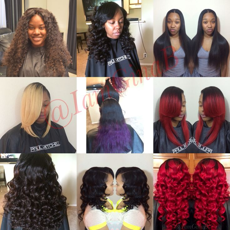 Beautiful hairstyles. Sew in weaves, Bob sew ins, lace