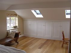 Sleek storage areas under eaves! Ashridge Lofts - Loft Conversions in the Midlands and Beds, Herts and Bucks borders