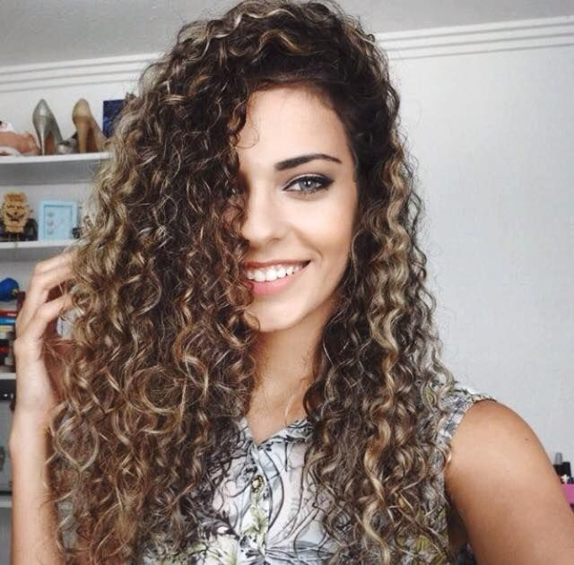 hair styles for permed hair best 25 highlights curly hair ideas on ombre 3406