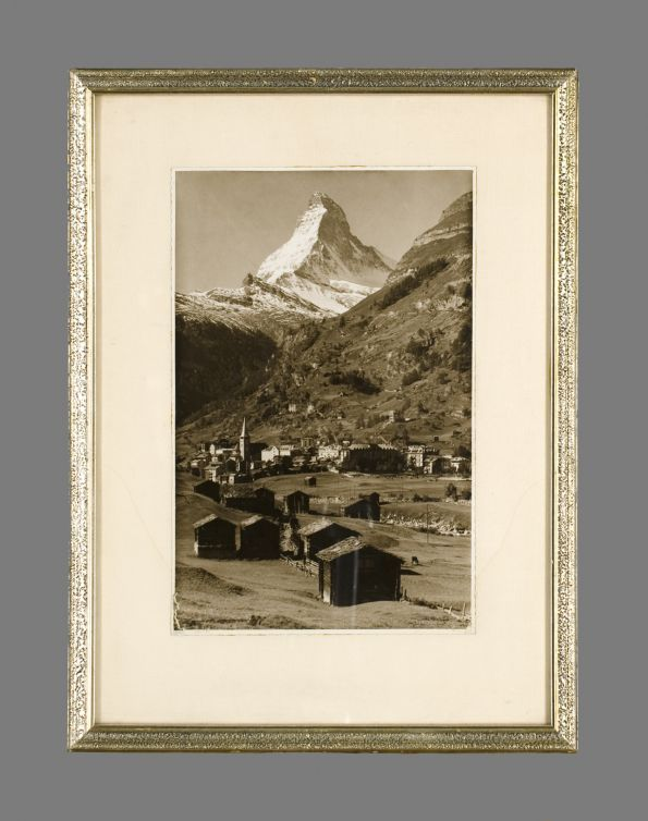 Photograph of Zermatt (by Phoriegrio / 1910)