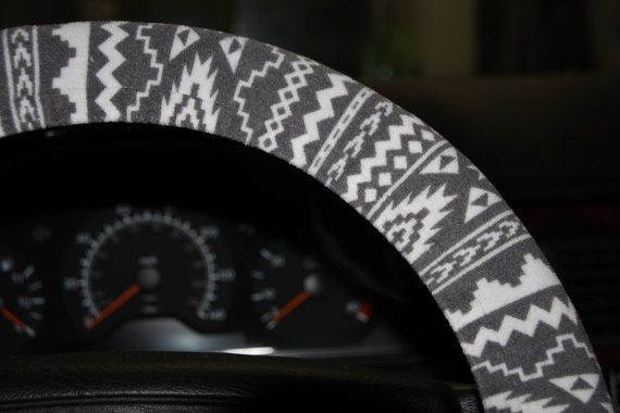 Tribal Wheel Cover  Aztec Steering Wheel Cover  by SouthernA