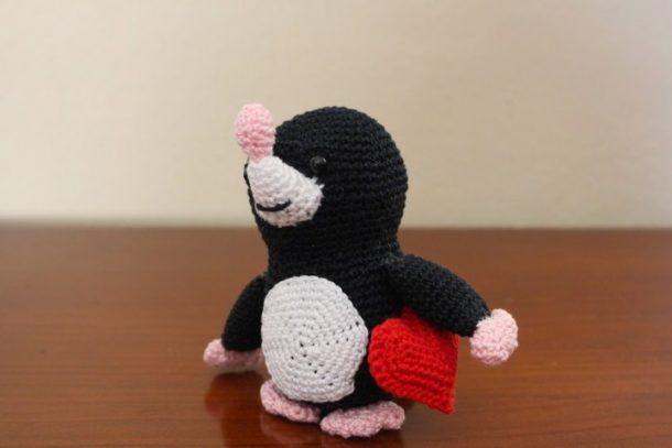 talpina amigurumi schema gratis uncinetto crochet filati pupazzi bambini giocattoli tutorial natale lavori femminili cotton