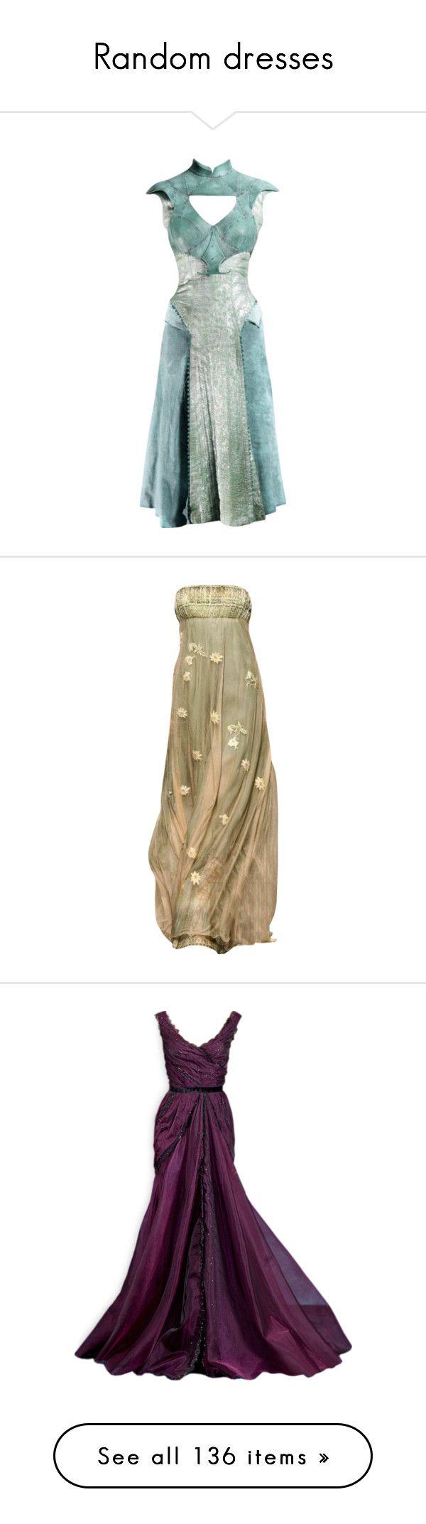 """Random dresses"" by beachan on Polyvore"