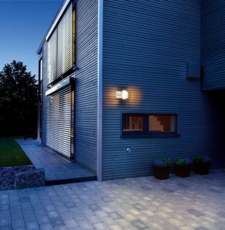 Inspirational Die modernste Hausnummer Lampe auf dem Markt Die STEINEL L LED Mit integriertem Bewegungsmelder Der Sensor erkennt Bewegungen und lernt die