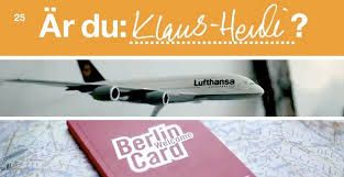 Are you Klaus-Heidi? Lufthansa launched a campaign with digital, direct and PR, but no bought media. Using organic reach, Lufthansa was able to grab an emotional advantage over the competition. Result: Lufthansa sold out an Airbus 319, 240 million impressions, made the news in over 30 countries and was a re-occurring topic on Swedish national TV, and during its peak it stood for 25% of Lufthansa's mentions in social media globally and was the main driver to Lufthansa.com behind Google.