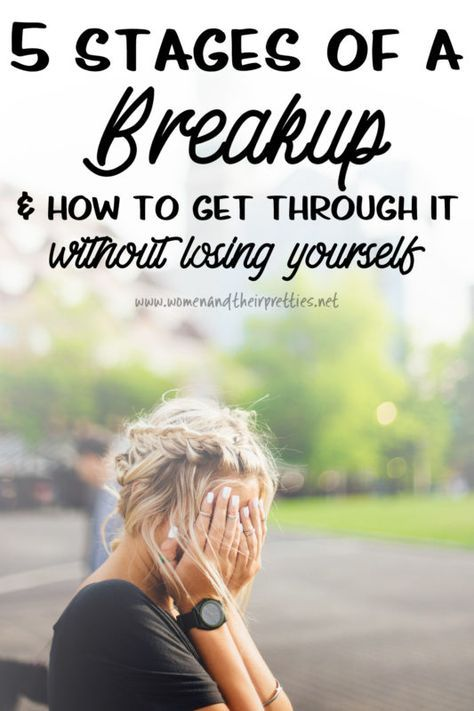 The 5 Stages of a Breakup and how to get through it (without losing yourself) | Women and Their Pretties - http://www.womenandtheirpretties.net/5-stages-of-a-breakup/