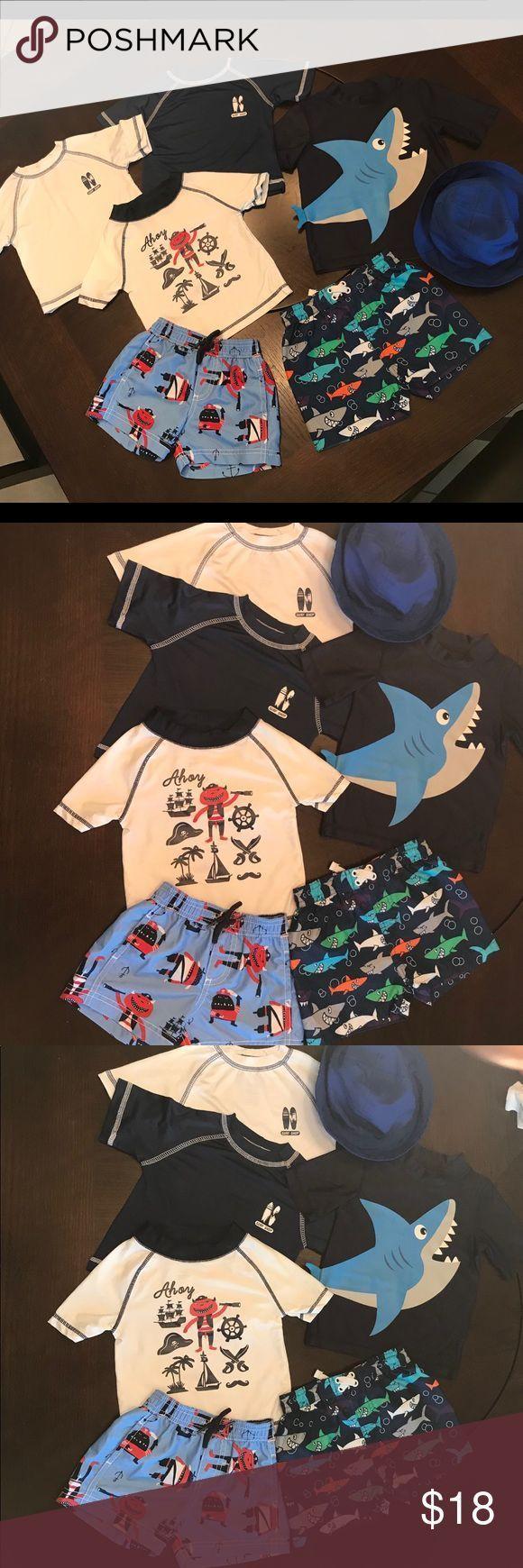 Baby Boy Bademode 7 Stück Bundle Baby Boy Bademode 7 Stück Bundle 4 Kinder   – Women clothes sale