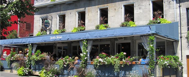 81 best images about hungry go where in canada on for Restaurant jardin montreal