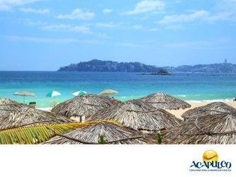 #lasmejoresplayasdeacapulco El clima en las playas de Acapulco. LAS MEJORES PLAYAS ESTÁN EN ACAPULCO. Las playas de Acapulco tienen un excelente clima cálido con un sol brillante que te permite estar muy cómodo, ya que puedes refrescarte en cualquier momento en el mar o con una bebida, así como disfrutar del paisaje desde un camastro o en la arena. Te invitamos a descubrir lo maravillosas que son las playas del Puerto de Acapulco. www.fidetur.guerrero.gob.mx