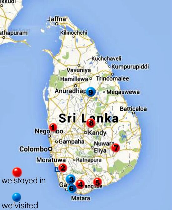 1 month in Sri Lanka with kids. Family travel Sri Lanka. Everything you need to know about travelling in Sri Lanka, how to get around, accommodation costs, where to go, food, everything! World Travel Family travel blog http://worldtravelfamily.com