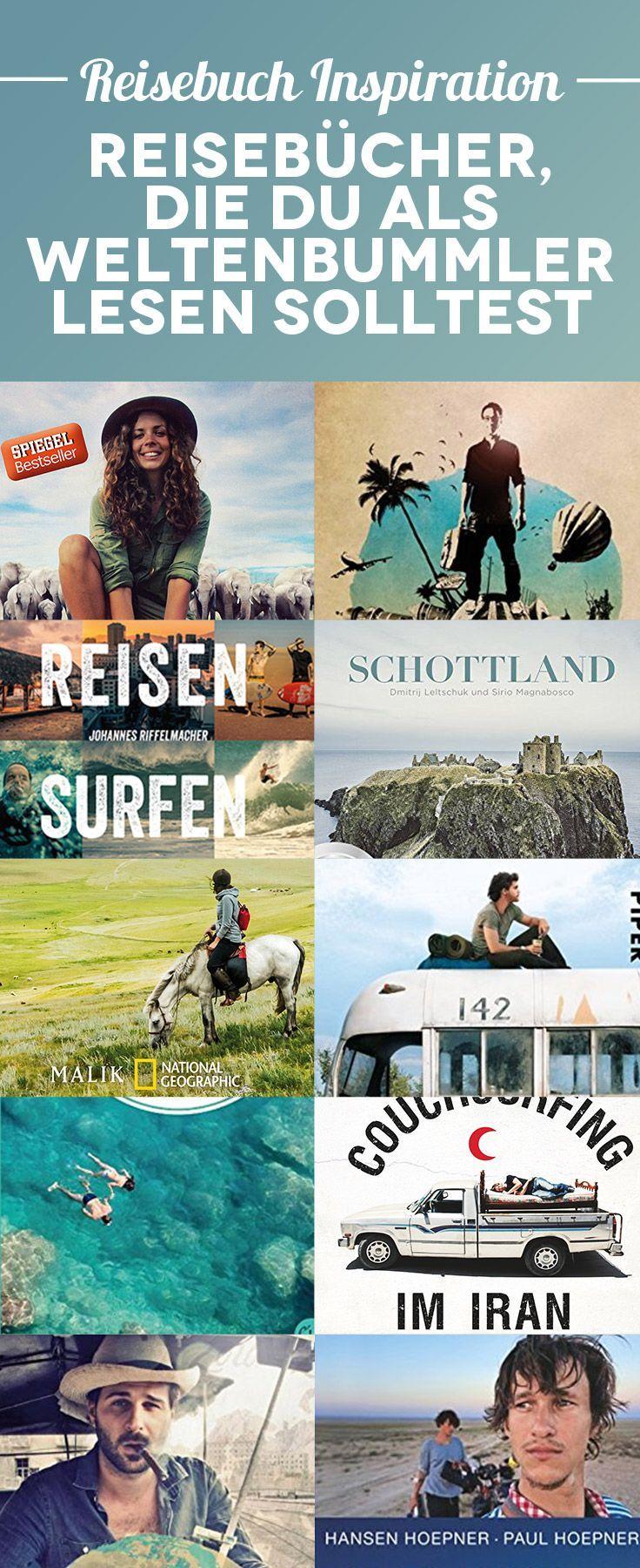 Reisebuch Inspiration – 40+ Reisebücher, die du als Weltenbummler unbedingt lesen solltest