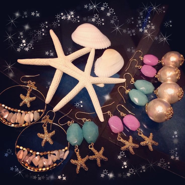 http://kujirabijou.com  スターフィッシュコーラルフープピアス ジェイド×パールピアス ジェイド×スターフィッシュピアス  my handmade jewely♡