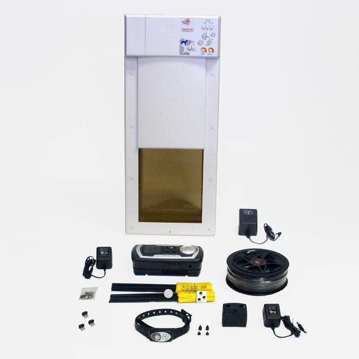$570 Electronic Dog Door Electric Dog Fence Combo. VALUE PRICED!