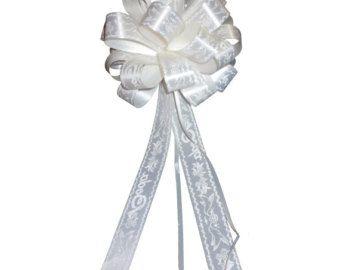6 iglesia de boda de grande blanco Pull arcos tul por giftwrapetc