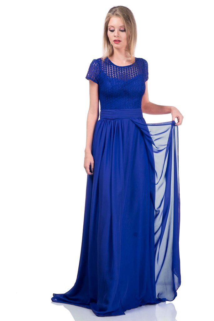Rochia LUANA - albastru