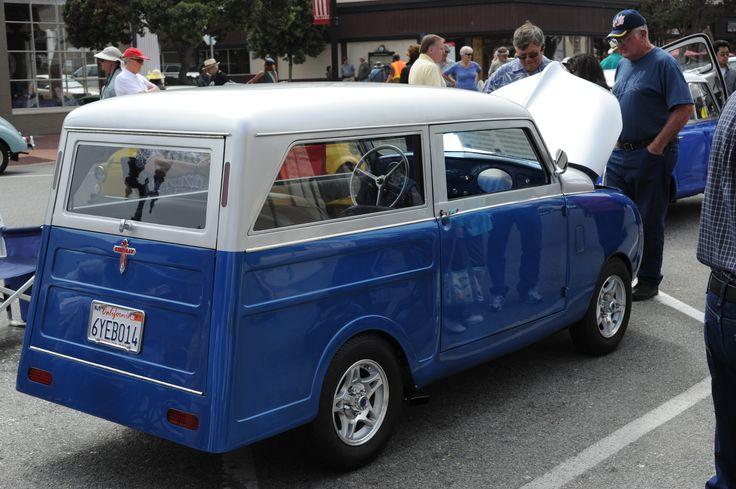 Monterey Wharf Car Show