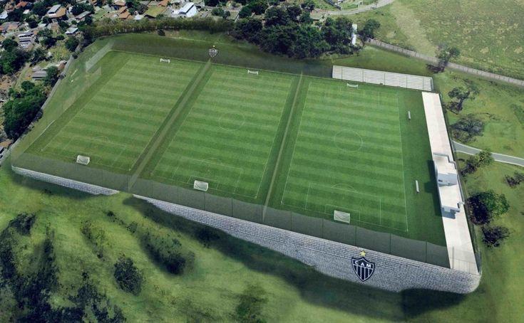 Novos campos da Cidade do Galo estão previstos para agosto; veja fotos do projeto