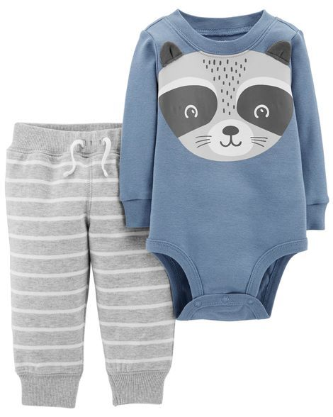 aba3bb929 2-Piece Bodysuit Pant Set