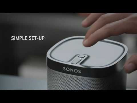 SONOS PLAY:1 2-Room Streaming Music Starter Set Bundle