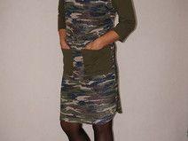 40 Sukienka Moro + ciemna oliwka