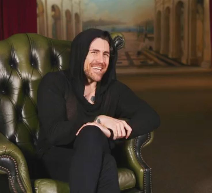Davey Havok (May 2017) That smile gets me every time.