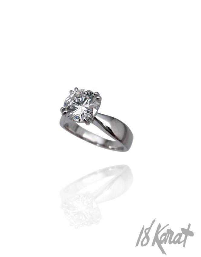 Courtney's Engagement Ring | 18Karat