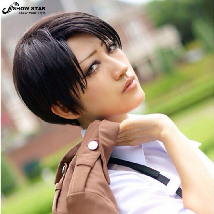 Anime Yuri!!! on Ice Cosplay Wigs Victor Nikiforov Yuri Plisetsky Short Black Synthetic Hair Peruca Cosplay Wig
