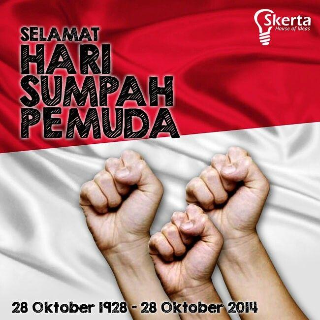 Dengan semangat hari sumpah pemuda mari kita rajut kembali rasa persatuan dan kesatuan