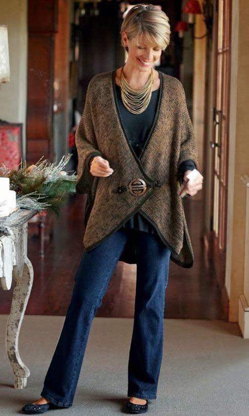 Resultado de imagen para outfits para señoras de 50+