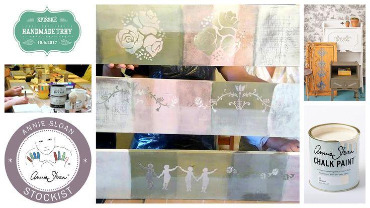 Ma maison - Workshop s farbami CHALK PAINT podľa Annie Sloan