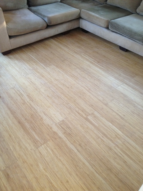 Natural colour Strandwoven Bamboo flooring, has been rated as one of the best and strongest floors you can have fitted.